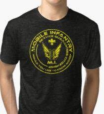 Starship Troopers - Mobile Infantry Patch Tri-blend T-Shirt