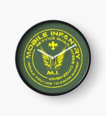 Starship Troopers - Mobiler Infanterie-Patch Uhr