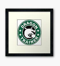 Gronckle dragon trainer Framed Print