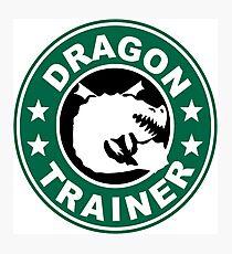 Gronckle dragon trainer Photographic Print