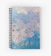 Claude Monet - The Water Lilies - The Clouds 1915 Spiral Notebook