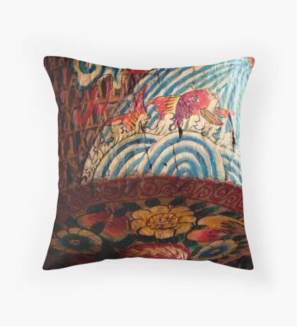 Chinese Lantern Throw Pillow