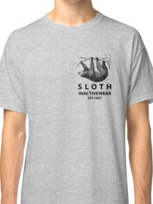 Sloth Inactivewear (Pocket) Classic T-Shirt