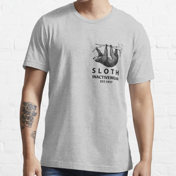 Sloth Inactivewear (Pocket) Essential T-Shirt