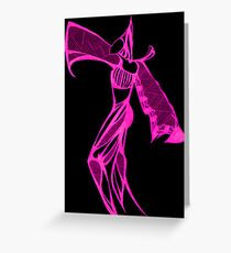 Pink Harem Greeting Card