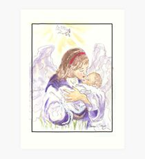 Angel of Protection Art Print