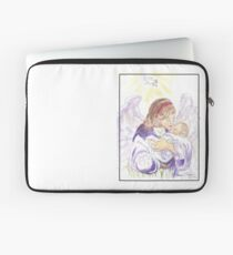 Angel of Protection Laptop Sleeve