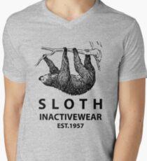 Sloth Inactivewear Men's V-Neck T-Shirt