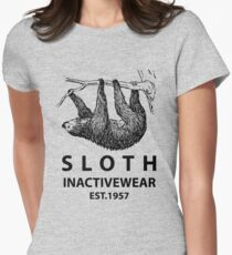 Sloth Inactivewear Women's Fitted T-Shirt