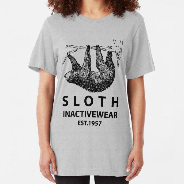 Sloth Inactivewear Slim Fit T-Shirt