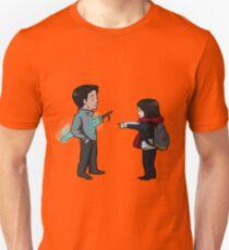 Cute Goblin Sword Scene Unisex T-Shirt