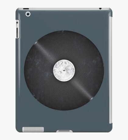Scratched Record iPad Case/Skin