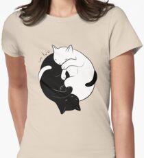 Eternal Cat Love Womens Fitted T-Shirt