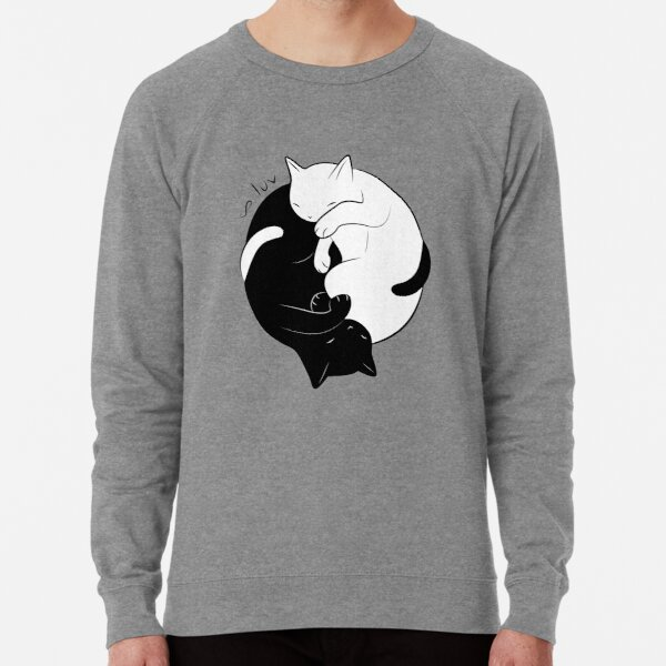 Eternal Cat Love Lightweight Sweatshirt
