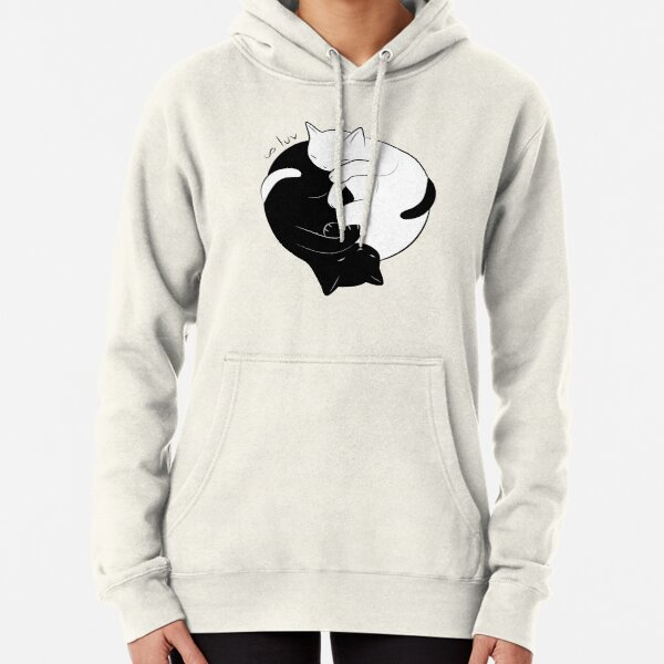 Eternal Cat Love Pullover Hoodie