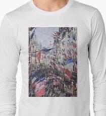 Claude Monet - The Rue Saint - Denis, Celebration Of June 30, 1878 T-Shirt
