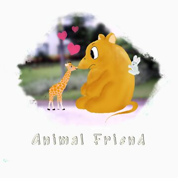 Animal Friend by leosignwomen