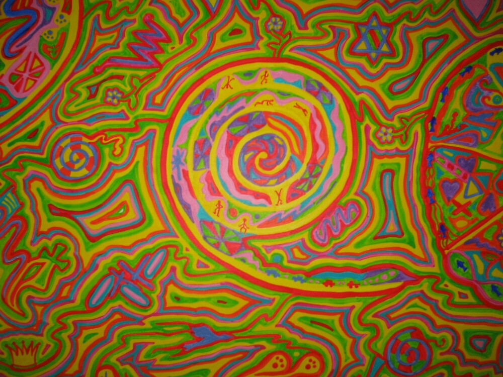 Peace closeup2 by Psychedelia
