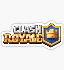 CLASH ROYALE (Logo) - Supercell Sticker