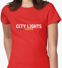 Blanche - City Lights [2017, Belgium] Womens Fitted T-Shirt
