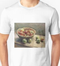 Claude Monet - The Plate With Apples, 1880 Unisex T-Shirt