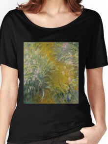 Claude Monet - The Path Through The Irises Women's Relaxed Fit T-Shirt