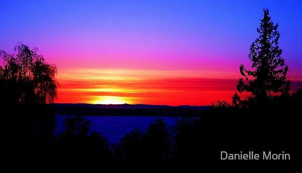Original Island Sunset by Danielle Morin