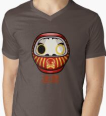 mikoto's Daruma Doll Men's V-Neck T-Shirt
