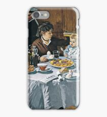 Claude Monet - The Luncheon (1868) iPhone Case/Skin