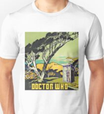 Tenth Doctor and the Tardis -Doctor Who Unisex T-Shirt