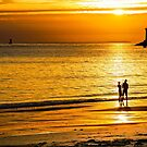 Romantic sunset by Jean-Luc Rollier