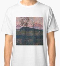 Egon Schiele - Setting Sun (1913) Classic T-Shirt