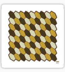 Hexes Chess 9P2 game board Sticker