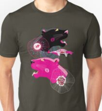 Fashionable pattern with panther heads Unisex T-Shirt