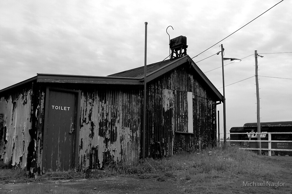 Train Station Toilet by Michael Naylor