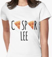 Caspar Lee - Pizza! Women's Fitted T-Shirt