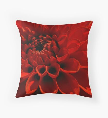Clutching Life Throw Pillow