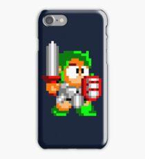 Wonder boy Pixel art. iPhone Case/Skin