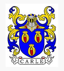 Carle Coat of Arms I Photographic Print