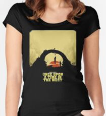 Once Upon A Time In The West Women's Fitted Scoop T-Shirt