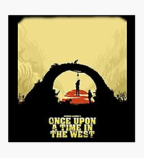 Once Upon A Time In The West Photographic Print