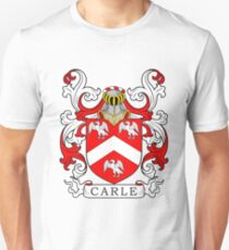 Carle Coat of Arms II Unisex T-Shirt