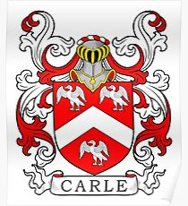 Carle Coat of Arms II Poster