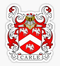 Carle Coat of Arms II Sticker