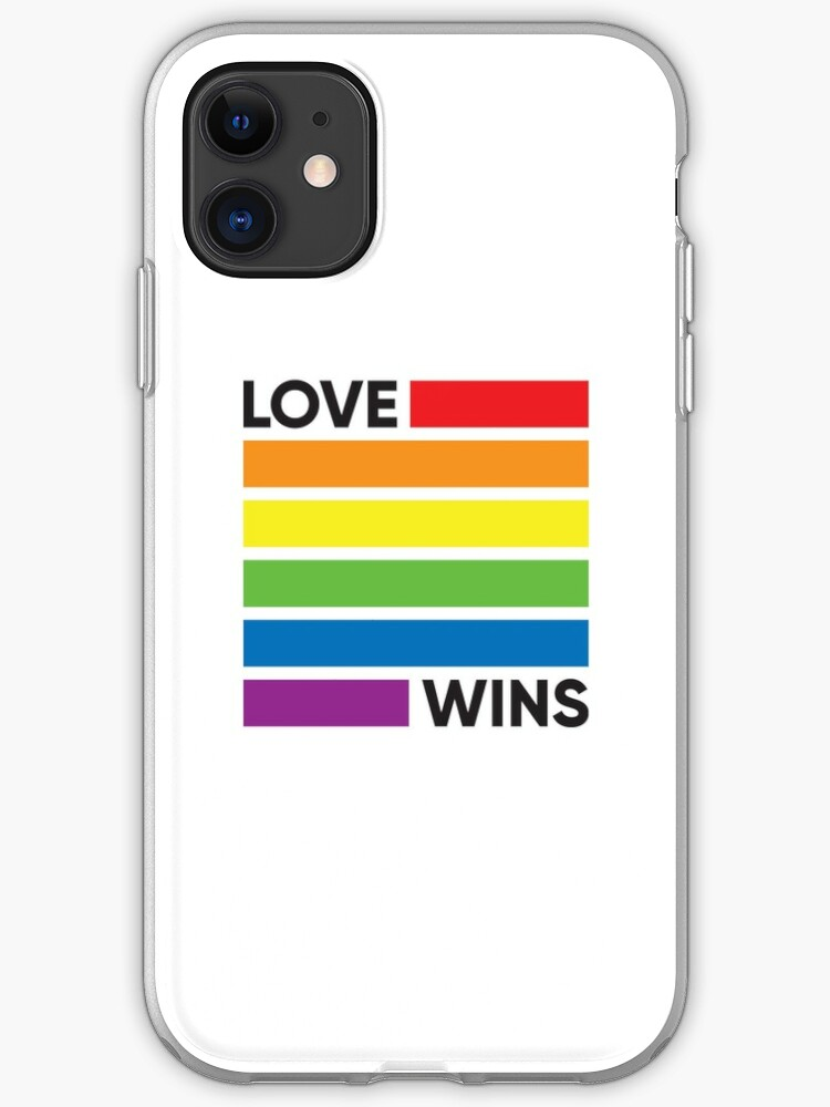Rainbow Flag Gay Pride Parade Love Wins Gifts for Gay Couple Shower Curtain