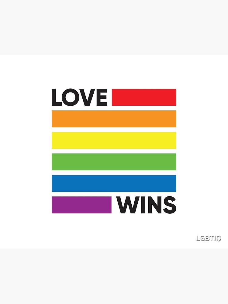 Lamour remporte le mignon drapeau de la Gay Pride LGBT Sweatshirt