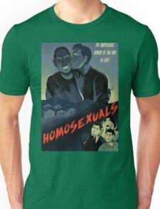 Homosexuals Unisex T-Shirt