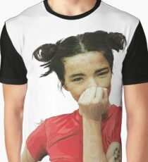 Grateful Grapefruit-Björk  Graphic T-Shirt