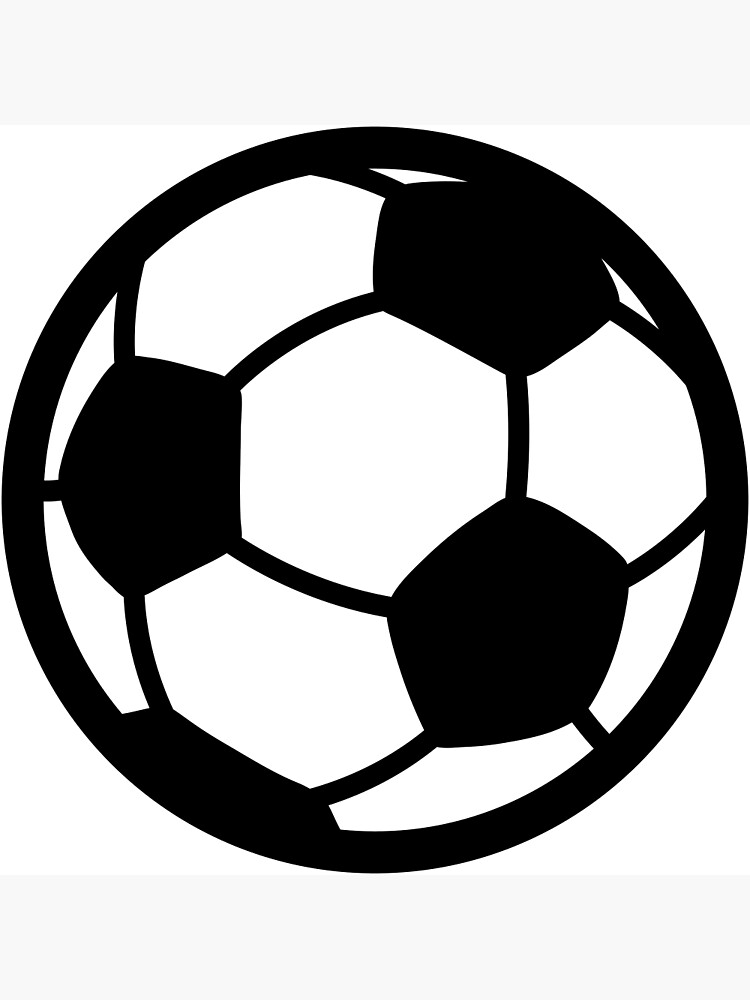 Soccer Ball Drawing Greeting Card By Bucth Redbubble