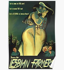 Invasion of the Lesbian Farmers Poster